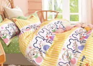 Детское постельное белье сатин Asabella 1572 хлопок 100%