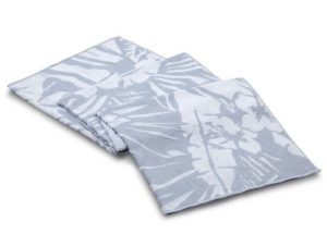 Полотенце Casual Avenue (100% хлопок) BOTANIC голубое