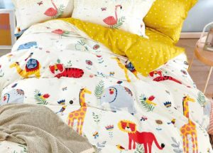 Детское постельное белье сатин Asabella 1558 хлопок 100% купить