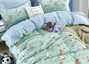 Детское постельное белье сатин Asabella 1561 хлопок 100%