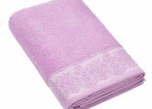 Полотенце BRIELLE GARDEN пурпурный (50x90, 70x140) купить!