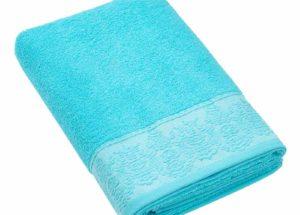 Полотенце BRIELLE GARDEN голубой (50x90, 70x140) купить!