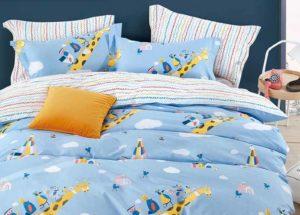 Детское постельное белье сатин Asabella 1618 хлопок 100%