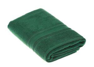 Полотенце TAC SOFTNESS зеленое (100% хлопок) купить в Москве!