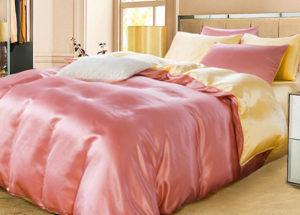 Шелковое постельное белье Luxe Dream Elite коралловый шелк 100%